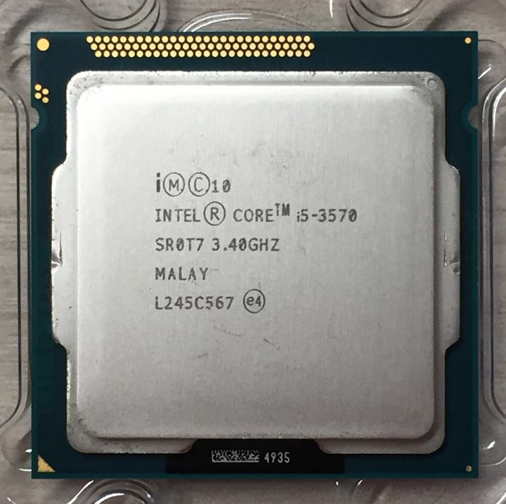 ⭐️【Intel i5-3570  6M 快取記憶體/最高 3.80 GHz 4核4緒】⭐ 正式版/無風扇/個人保固1個月
