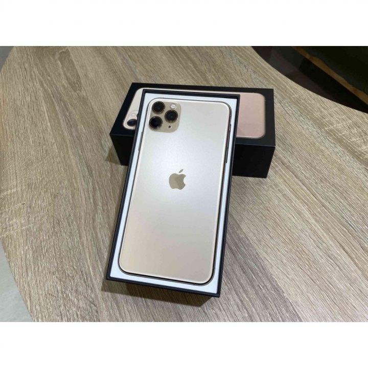 iPhone11 Pro Max 256G 金色 漂亮無傷
