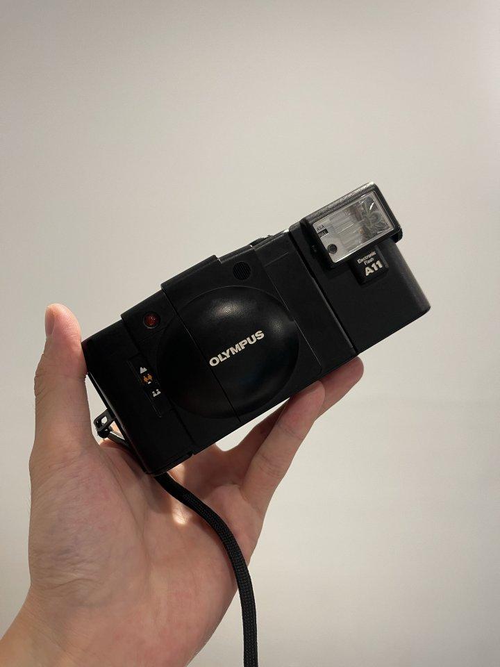 Olympus XA2 + A11閃光燈 底片相機
