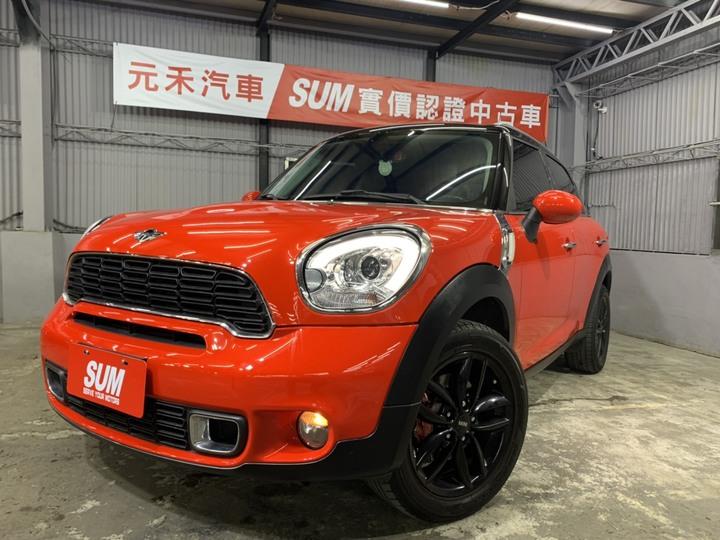2013 Mini 2.0 SD 特仕版 紅黑色  62.8萬 全額貸款 超額貸款 找錢車 非自售 一手車/中古車