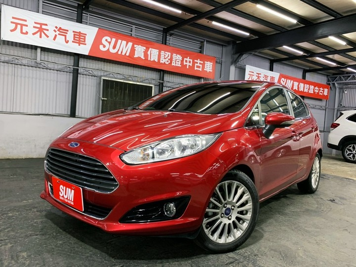 2015 Ford Fiesta Ecoboost 1.0t汽油最頂級款 全額貸款 超額貸款  找錢車 非自售 一手車/中古車