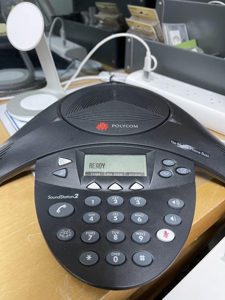 Polycom SoundStation2 (八爪魚擴音器)