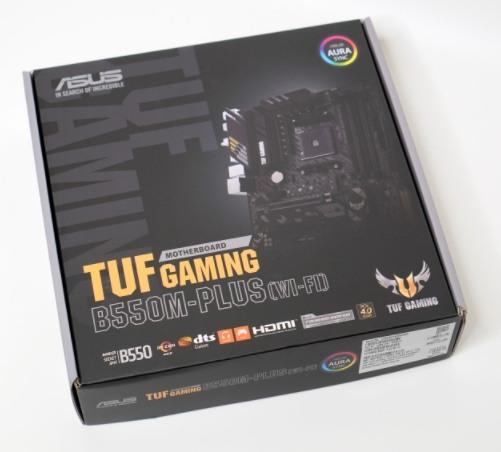 華碩 TUF GAMING B550M-PLUS WIFI 6 AX AMD 主機板