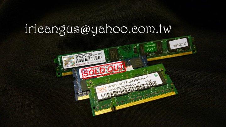 創見 海力士 記憶體 RAM 桌電 筆電 DDR2 533 256MB 800 2G 終身保固