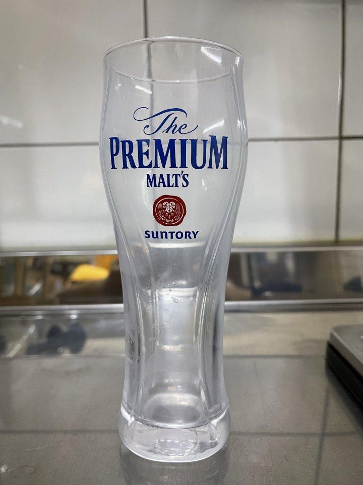 三得利啤酒杯 380毫升