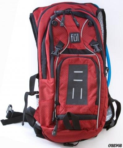 不議價 黑色 戶外健行水袋背包 FUL hydration pack 2L 外出旅遊 露營 健行 登山 自行車 路跑