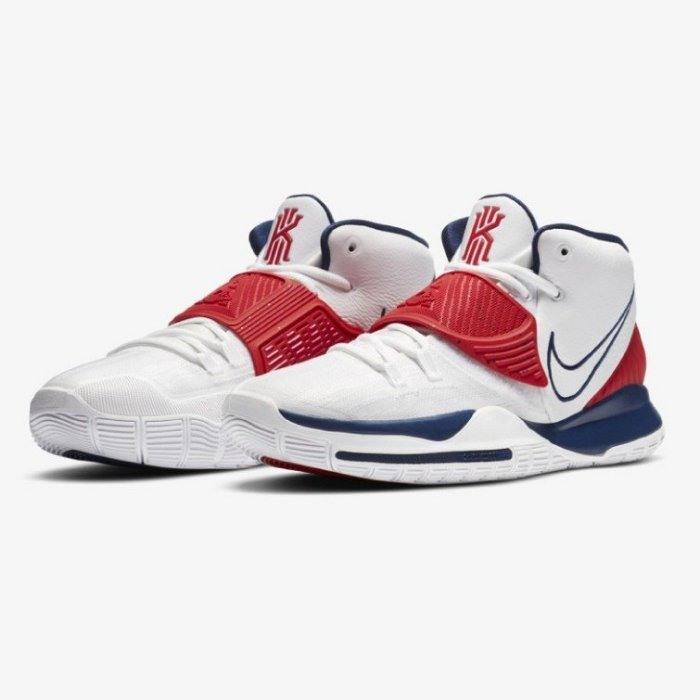不議價 全新正品 Nike Kyrie 6 美國隊配色 US10