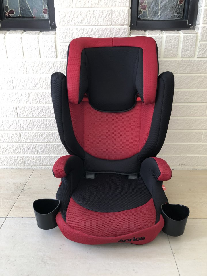 Aprica長型輔助汽車安全座椅-(適用3~11歲)
