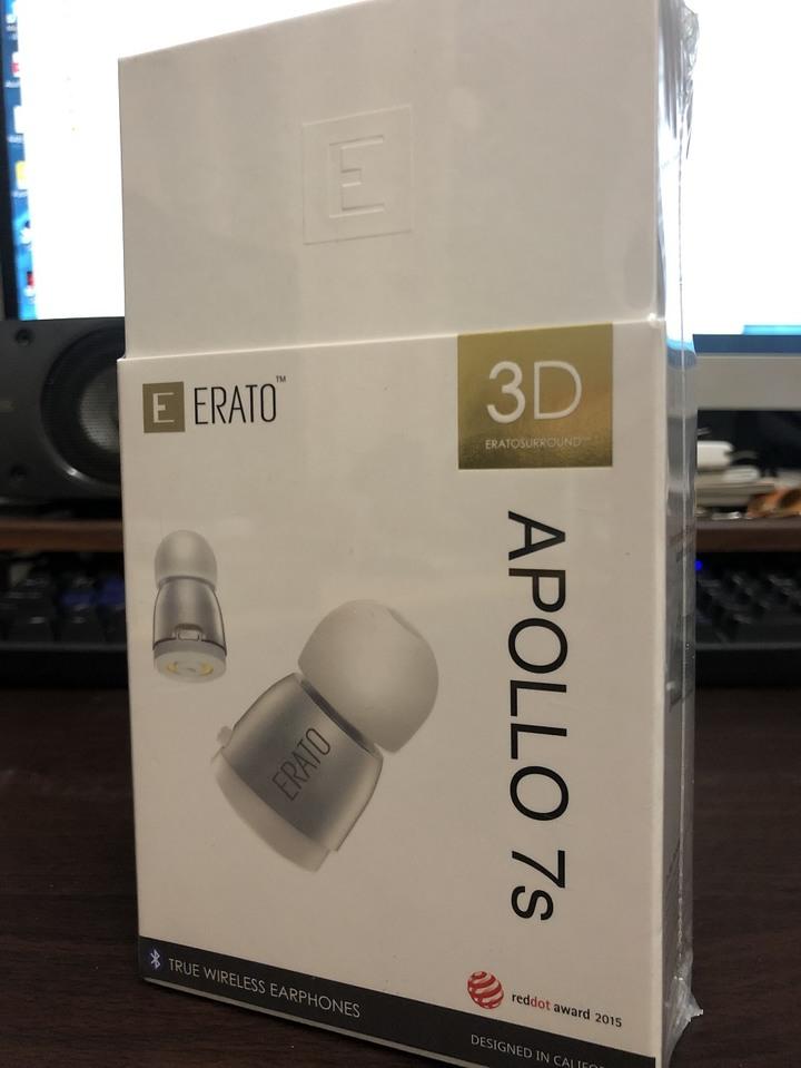 ERATO APOLLO 7s 真無線立體聲藍牙耳機 - 極致銀 全新未拆