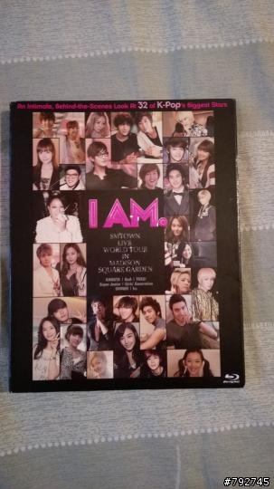 SM家族青春傳記電影 I AM : Smtown Live World Tour BD