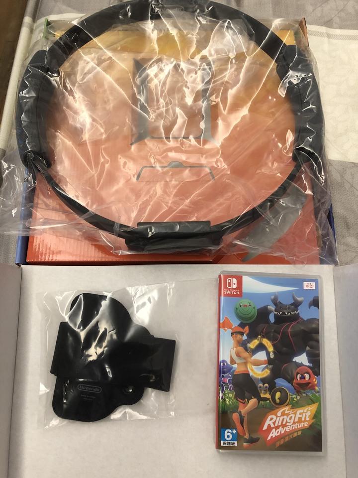 健身環大冒險(近全新)+Mario Maker 2(日版)