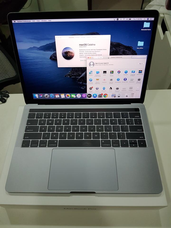 2017 macbook pro 13吋 i7/16G/256G with TouchBar 太空灰