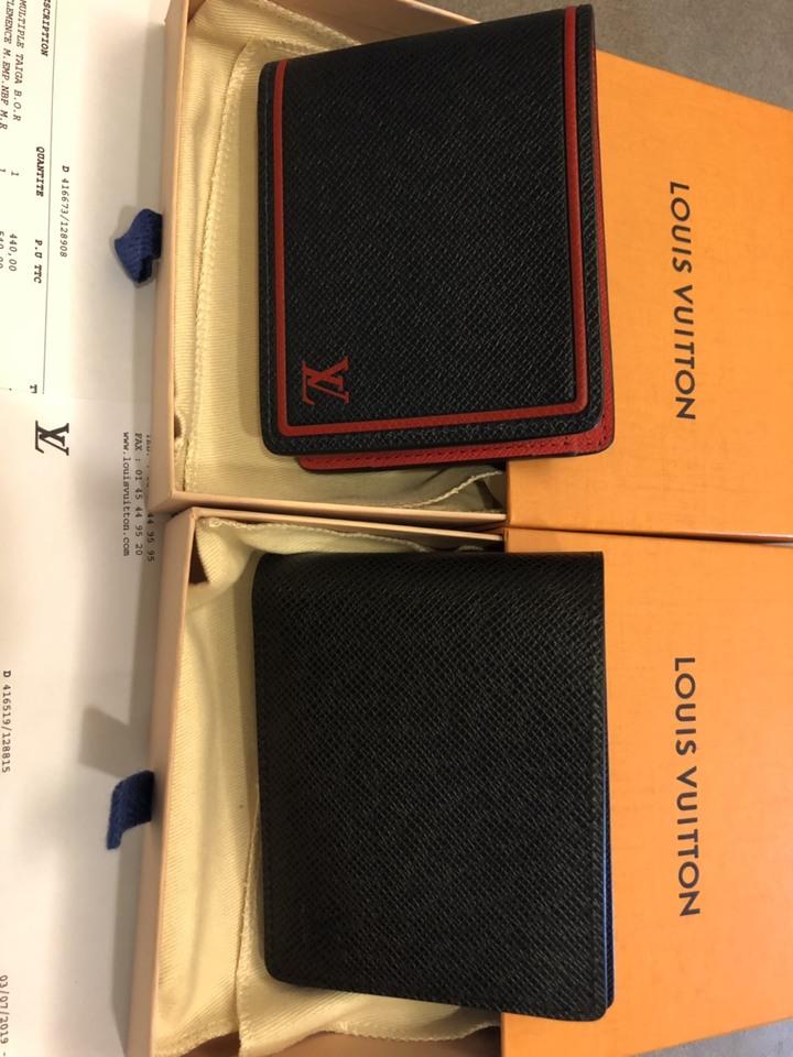 全新 Louis Vuitton LV M30531 / M63416 Taïga皮革系列 Multiple 皮夾