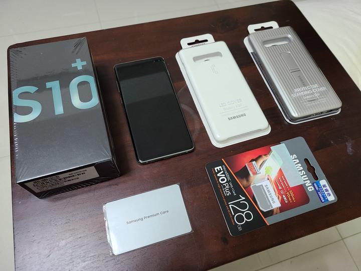 Samsung Galaxy S10 Plus 8G/128G 絢光綠 九成新