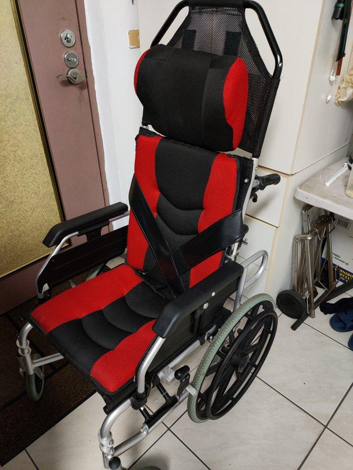 高背復健型輪椅
