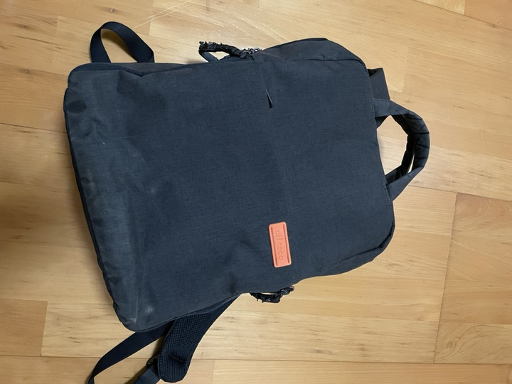[售] ELECOM DGB-S023BK帆布多功能後背包