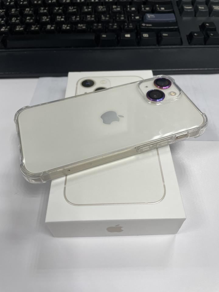 無傷近全新 iphone 13 mini 256GB 白色