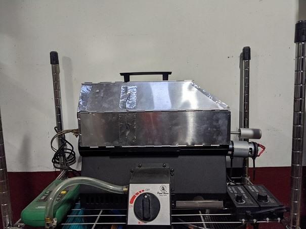 寶馬牌 大金剛烘豆機 800g 台灣製專利 換機出售。