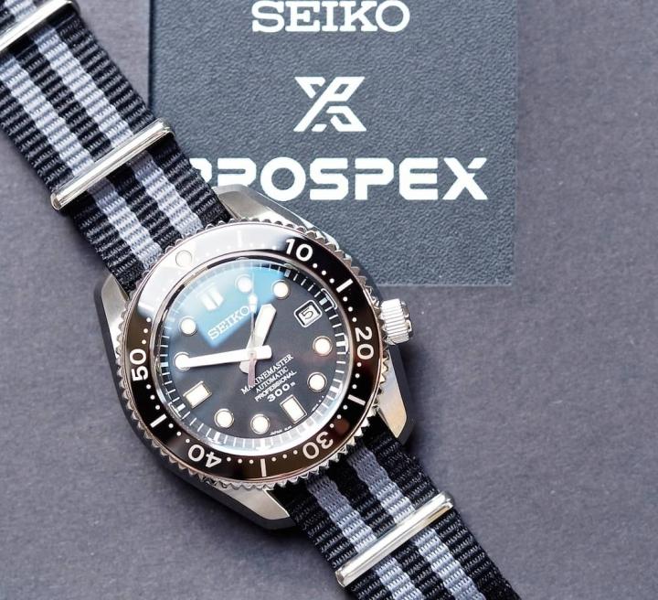 Seiko 大MM SBDX017...原廠鋼帶, 橡膠帶, 盒單全