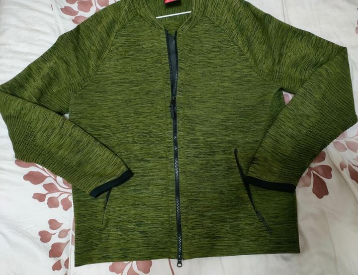 Nike sport tech knit高端針織外套美國m號
