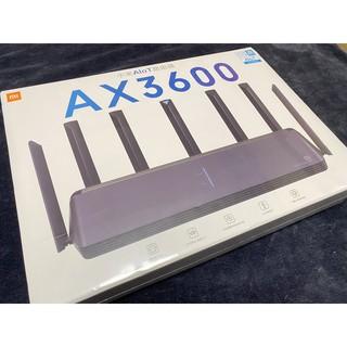 現貨一台 小米 路由器 AX3600 當天秒寄出 Wi-Fi 6 豪華旗艦 5G 高通6核 512MB 桃園可面交