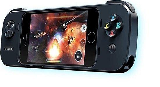 Logitech 羅技 G550 行動遊戲控制器 支援 iPhone 5/5s iPod touch 掌上遊戲機 蝙蝠車