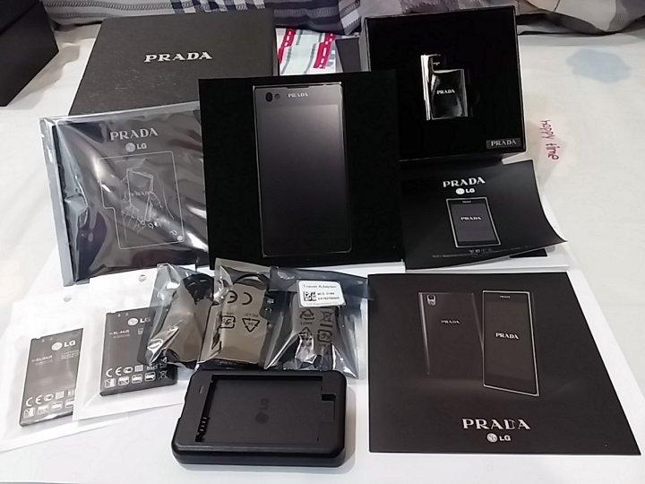 LG PRADA KU5400/P940 精品機 正韓版非台灣閹割版 asus samsung iphone vivo