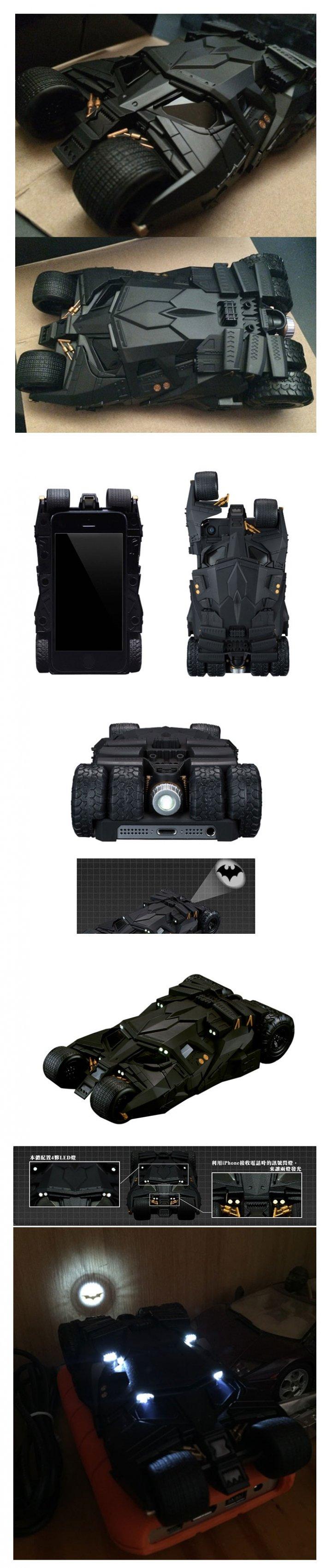 日本萬代 限定 CRAZY CASE 第3彈 蝙蝠車 蝙蝠俠 iPhone5/6S等 手機殼 保護殼 專用 75周年版