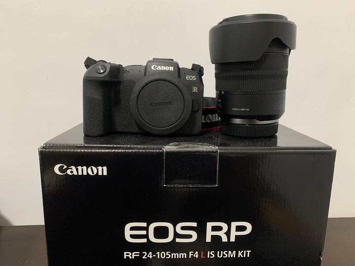 Canon RP + RF 24-105 F4 L kit組 公司貨