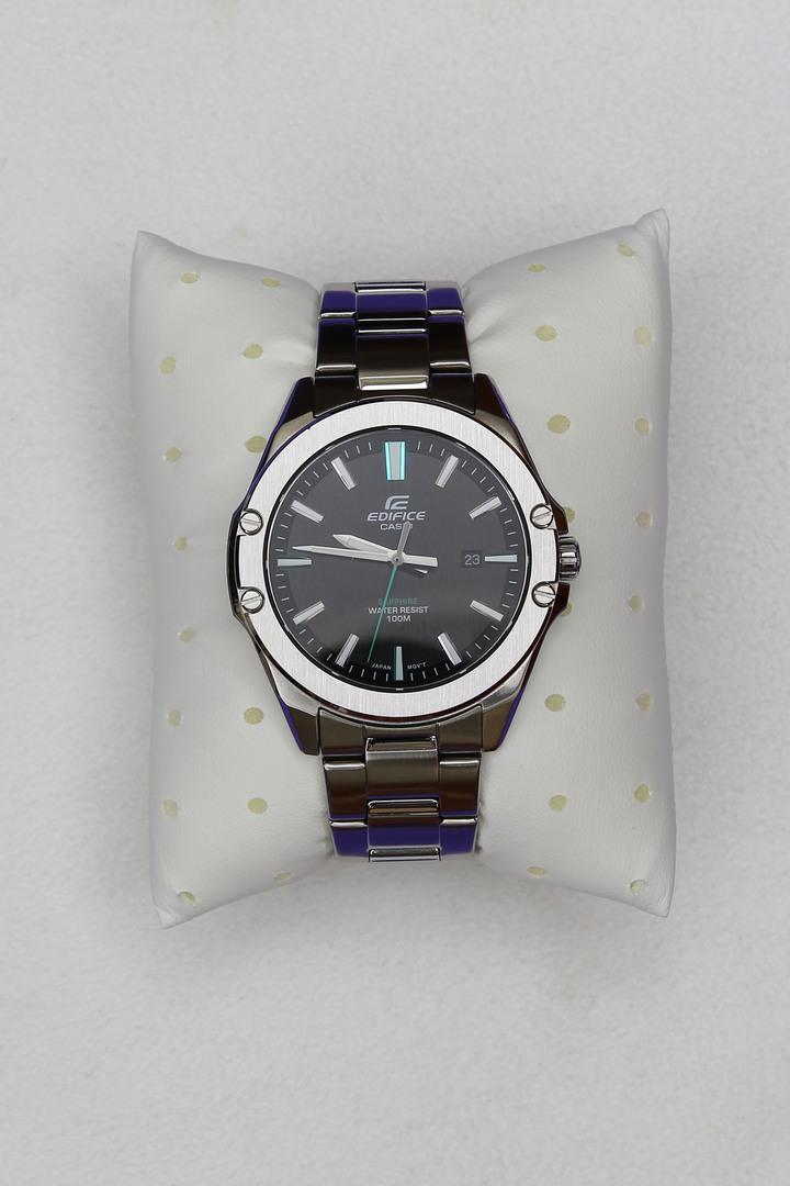 CASIO EDIFICE系列 EFR-S107D-1A輕薄錶殼