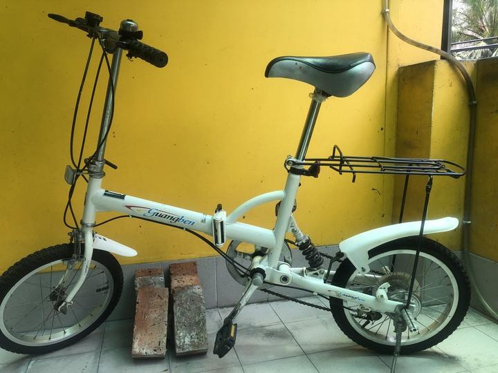 摺疊腳踏車,避震型,5速