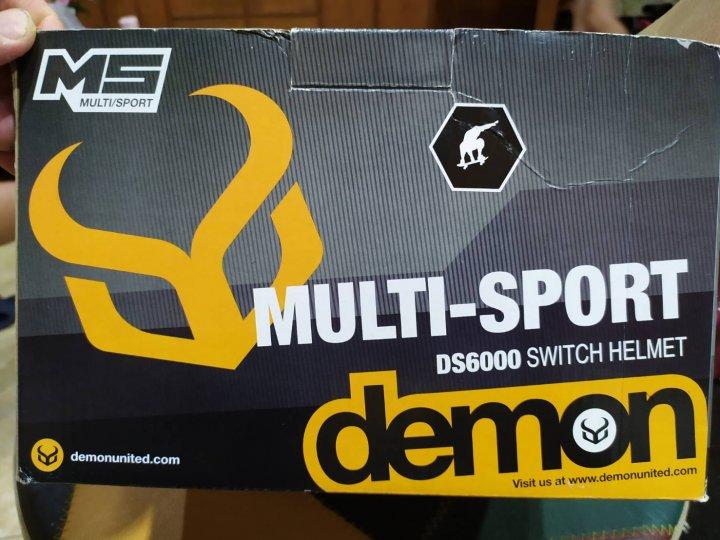 Demon Multi-Sport Protection Switch Audio Helmet