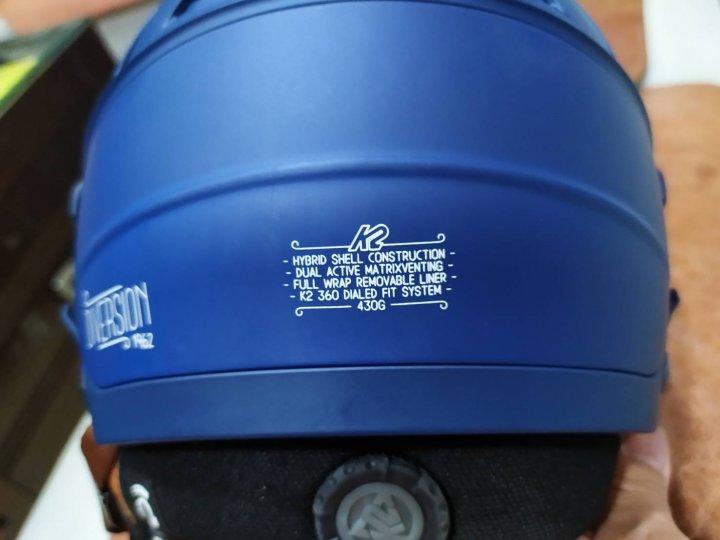 K2 Helmets navy