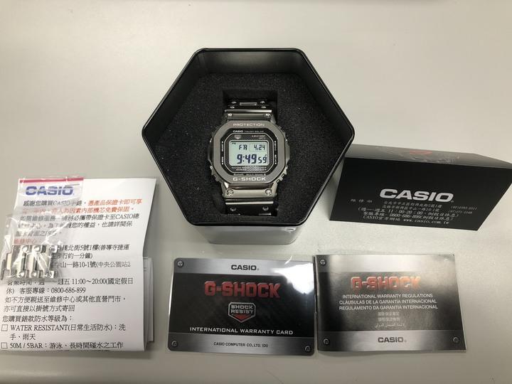 CASIO GMW-B50000D-1DR木村拓哉代言款