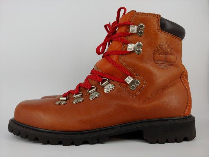 【Timberland】男款紅褐色1978 Waterproof休閒靴(27.5cm)