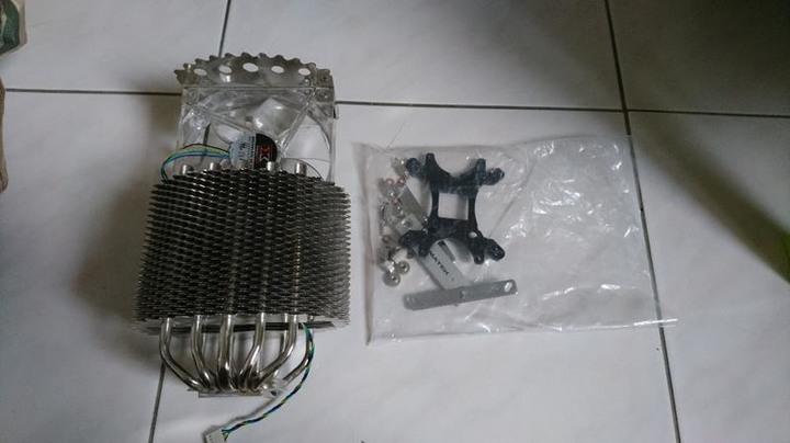 2手Xigmatek Colosseum SM128164 魚鱗狀設計 CPU 5導管散熱器 塔扇 酷媽 利民 曜越 真魂 貓頭鷹 保銳 T40參考