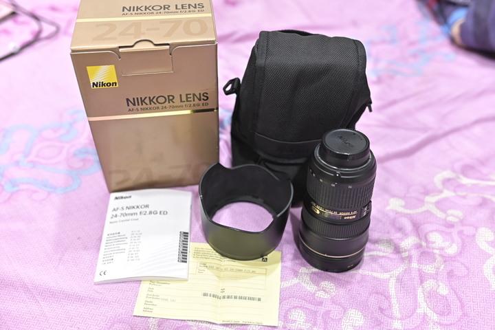 榮泰公司貨NIKON AF-S NIKKOR 24-70mm F/2.8G ED