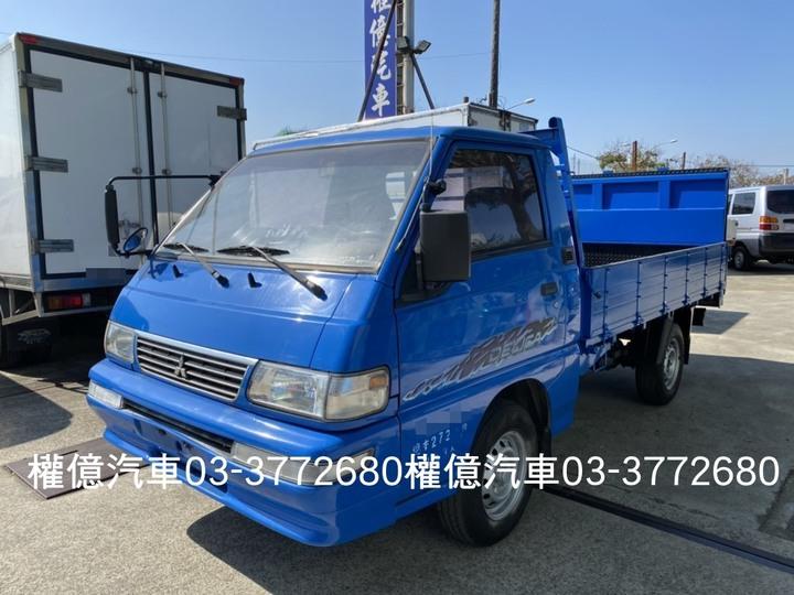 2010年 得利卡尾門貨車 得力卡貨車 DELICA 二噸半貨車 2400貨車 中華貨車二手