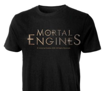 史詩冒險鉅片《移動城市:致命引擎》限量 T-Shirt 一件