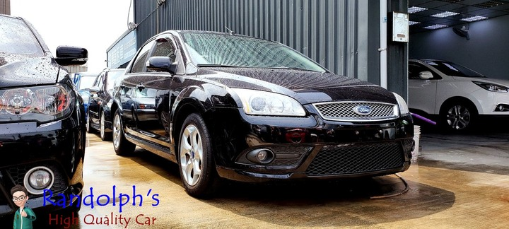 2007 Ford foucs 1.8 ghia 天窗 電動椅 後座出風口 僅跑6萬8 超優質代步車款 低月付全額貸3500交車