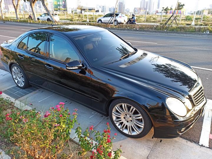 2008年 BenZ E220 cdi W211 ECLASS 尖頭 小改款