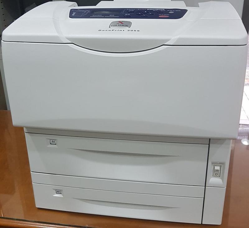 FujiXerox DocuPrint3055/A3雷射印表機/ 網路+250加大紙匣
