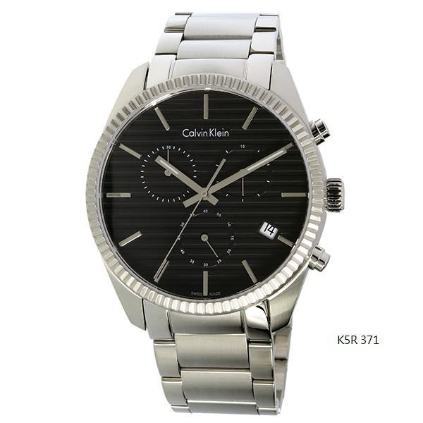 cK 鋼帶男錶三環錶 K5R 371