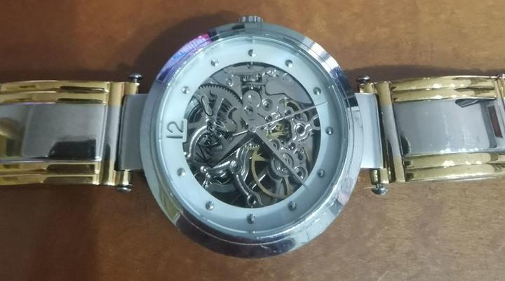 女用時尚全鋼質機械手錶