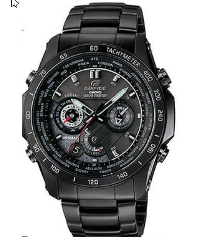 卡西歐CASIO太陽能電波時計單手錶