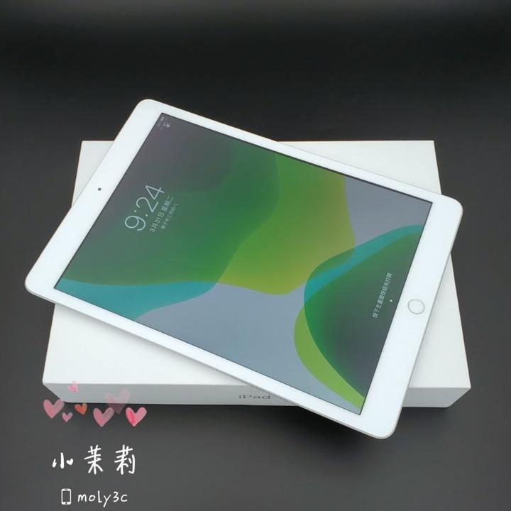 保固中 Apple iPad7 LTE 32G Wi-Fi+Cellular 可插卡 10.2吋 銀 iPad 7 32GB台灣公司貨