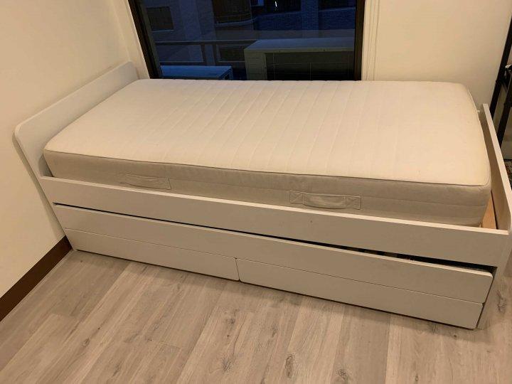 IKEA SLAKT親子床架(不含床墊)