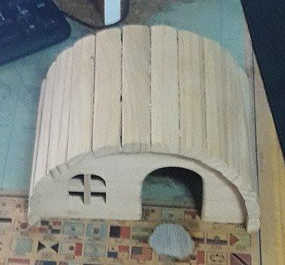 寵物鼠小木屋18*12*10cm
