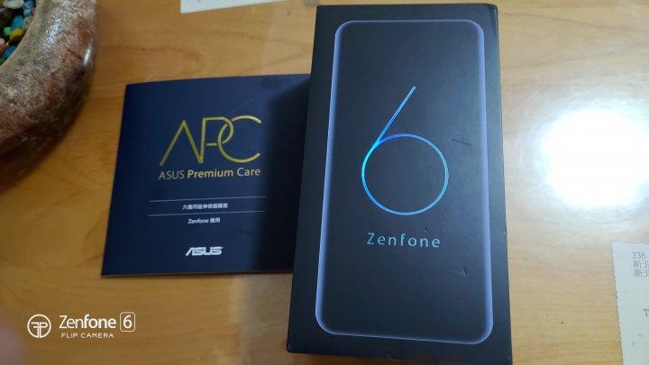 zenfone6 8/256g 今年三月購入,95新有延保18個月