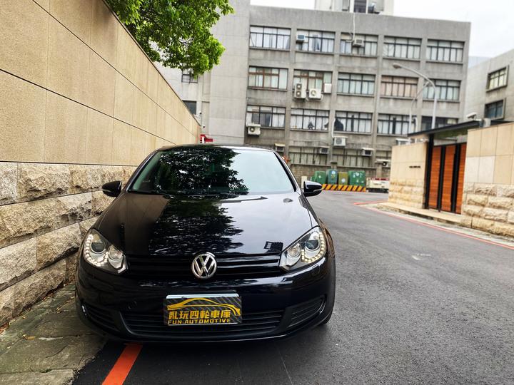 2012年 VW 六代 Golf 1.6 TL 黑色